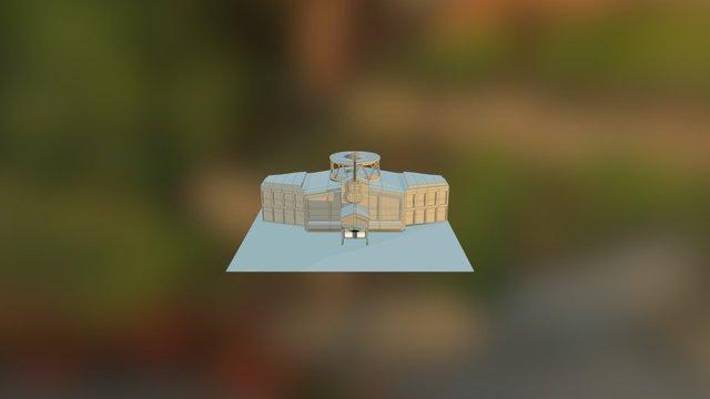 Hard Rock Cafe 3D Model