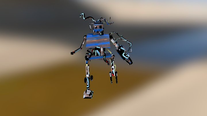 Espectro Warrior 3D Model