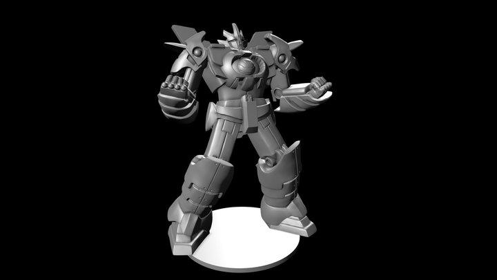 Azyn Black 3D Model