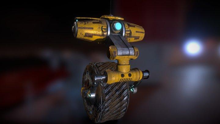Riding Robot Texturing by Pablo Garcia 3D Model