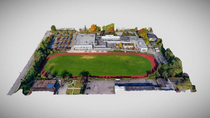 St. Thomas More Collegiate 3D Campus Map 3D Model