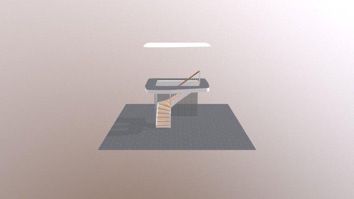 Vorsprung am Austritt 3D Model