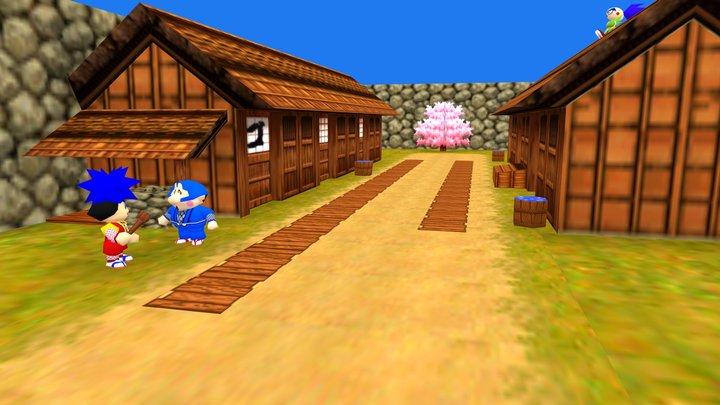 Goemon - VR Test 3D Model