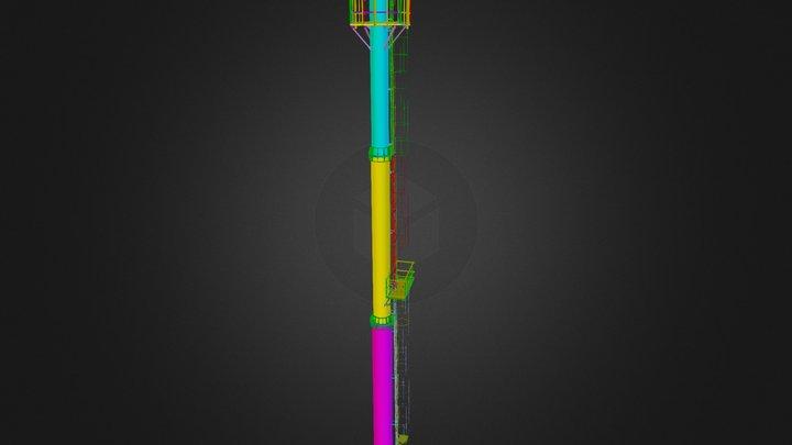 Tower1(no bolts) 3D Model