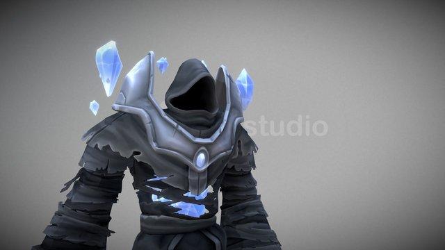 Shadow Mage - BattleSouls Character 3D Model