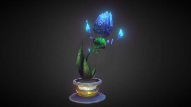 Mana Tide Blossom - *Animated* 3D Model