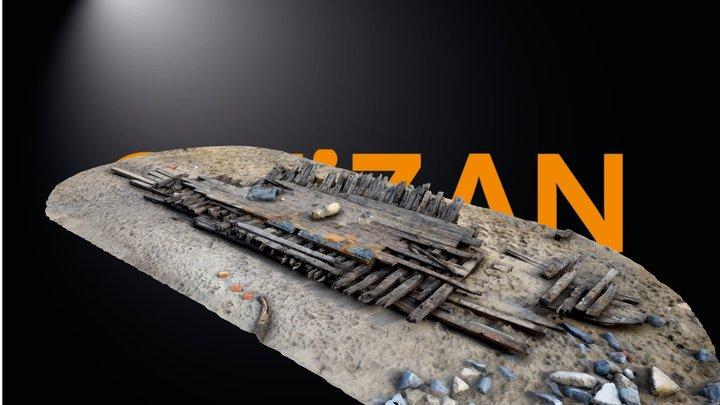 Hartlepool Shipwreck 3D Model