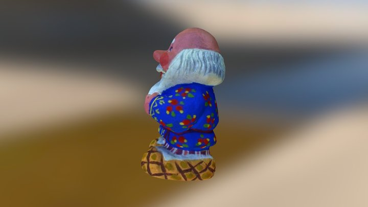 Grandpa 3D Model