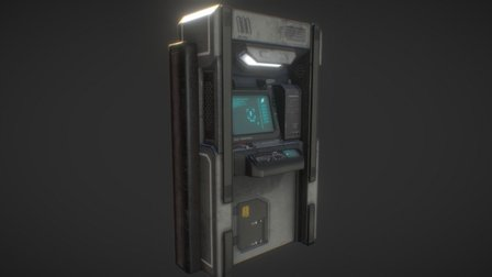 Capture point terminal (Resource point) 3D Model