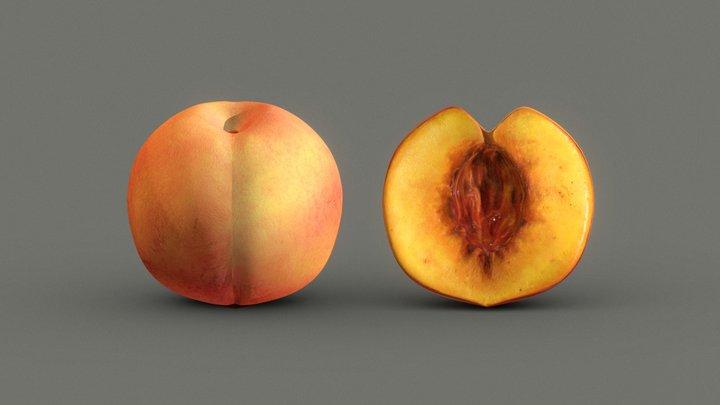 Peach Pack 3D Model
