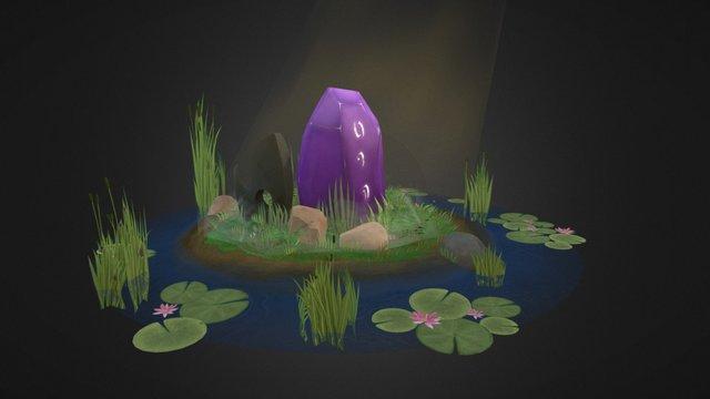 Runic pond 3D Model