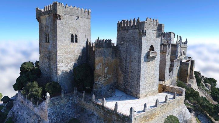 Castillo Almodovar Castle GAME OF THRONES Scenar 3D Model