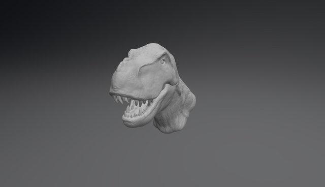 T. Rex Sculpt 3D Model