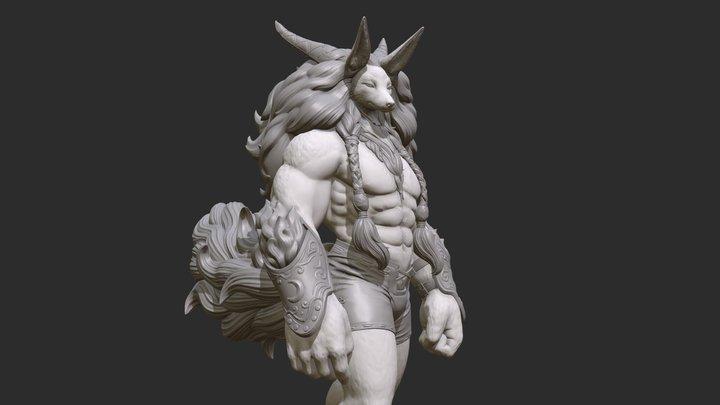 Beyond God 3D Model