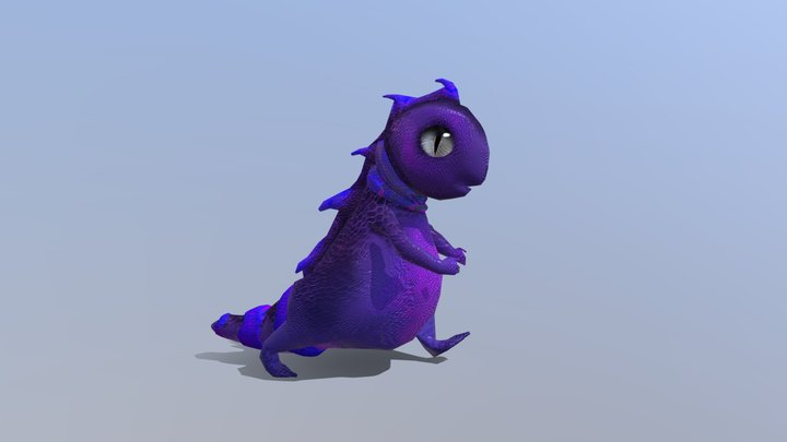 Reptisect Finished Animation Lio Agten 3D Model