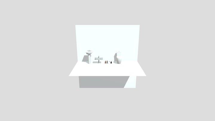 Bathroom Bundle 3D Model