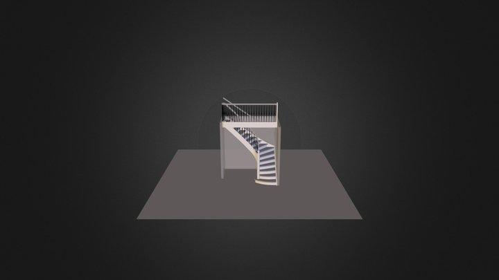 Theoretische trap projectgroep 7 2014-2015 3D Model