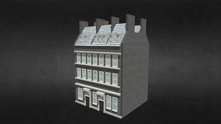 No10 Downing Street 3D Model
