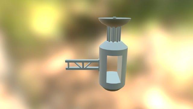 Prop Rotor Dish 3D Model