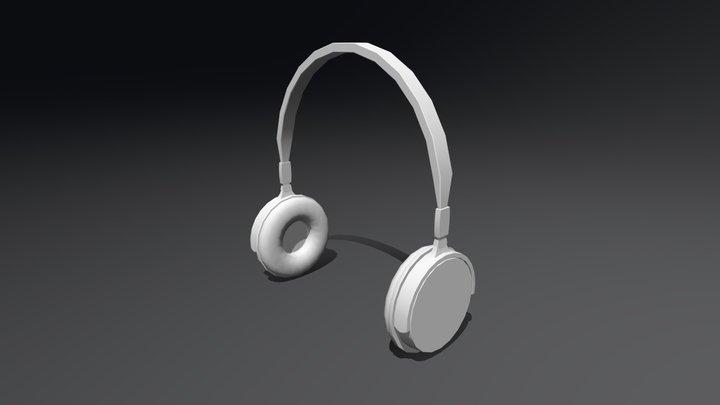 Headphone3D 3D Model
