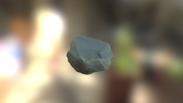 Fluted Artefact from the Nefud Desert 3D Model