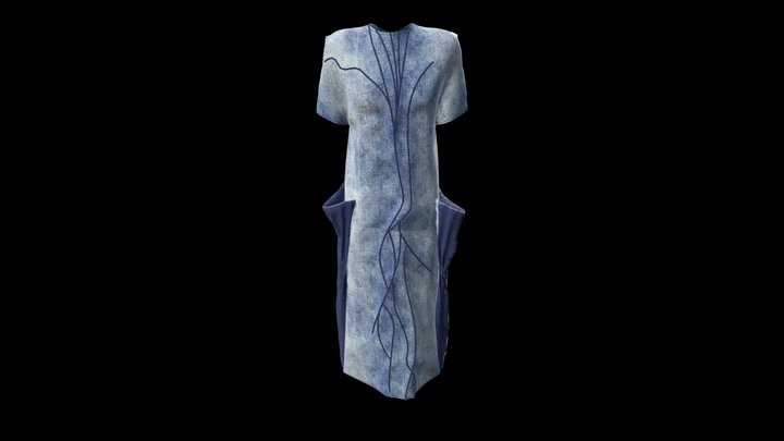 Dnipro Project Dress 7 3D Model