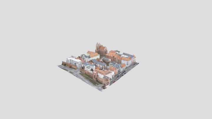 Starówka Toruń 3D Model