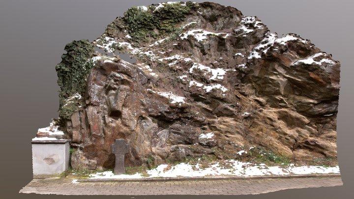 Cloos fold, Altenburg, Germany 3D Model