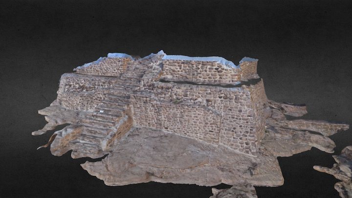 El Coporo  archaeological area 3D Model