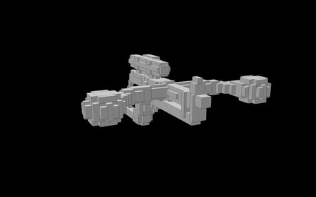 Bowcaster 3D Model