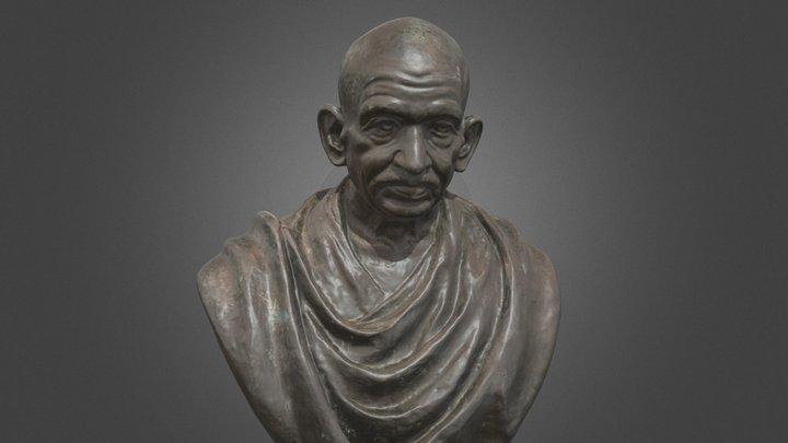 Gandhi 3D Model