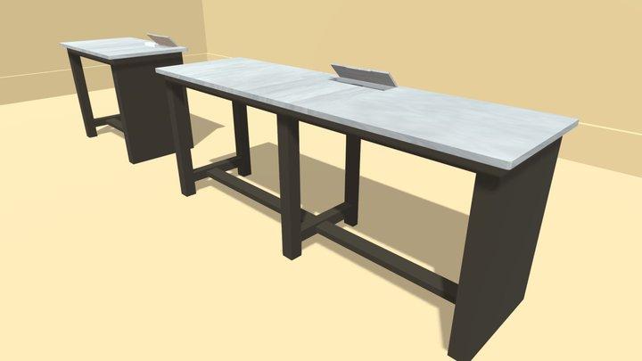 workdesk3_1 3D Model