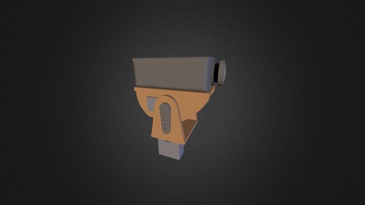 Pan Tilt for Mobius camera 3D Model