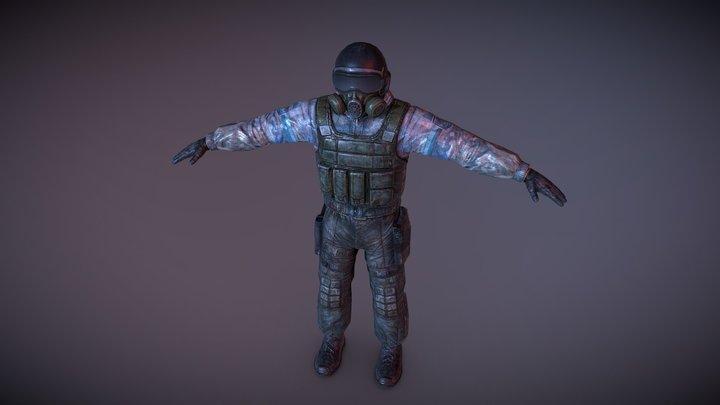 S.T.A.L.K.E.R Clear Sky. 3D Model