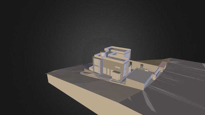 大坑高宅.dae 3D Model