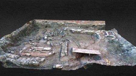 Excavación maqbara 3D Model