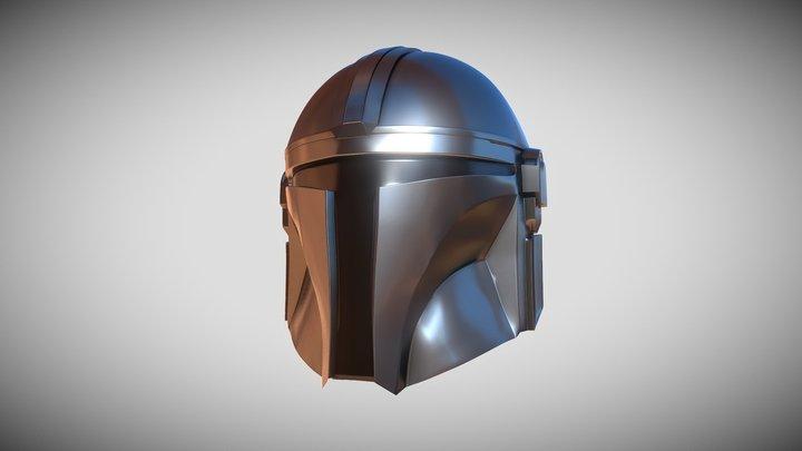 The Mandalorian - Din Djarin's helmet 3D Model
