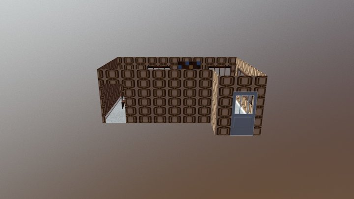 1969 San Francisco Living Room 3D Model
