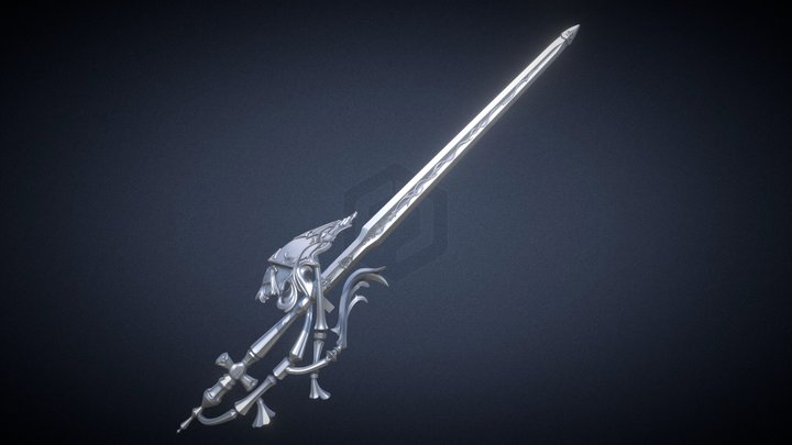 FFXIV RDM - Antiquated Murgleis 3D Print Files 3D Model