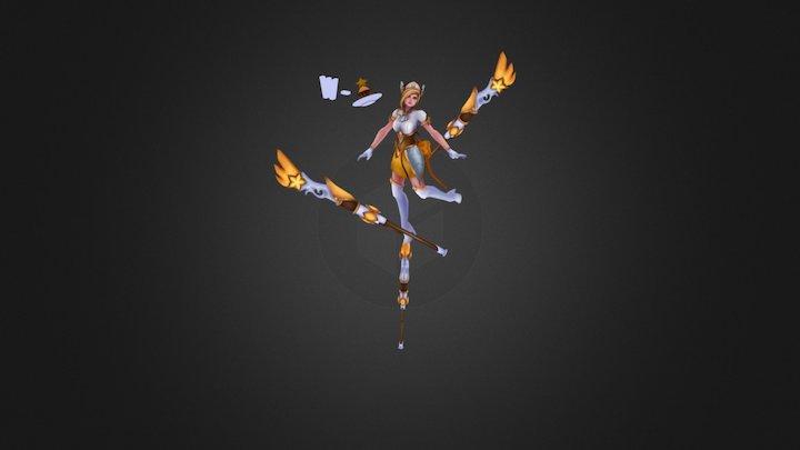 Star Guardian Caitlyn 3D Model