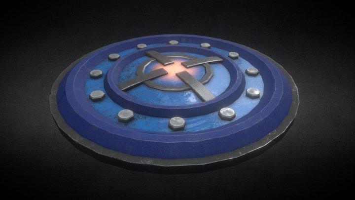 Sci-Fi station panel 3D Model