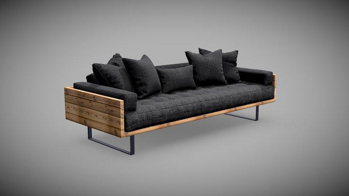 3D Sofa Set 3D Model