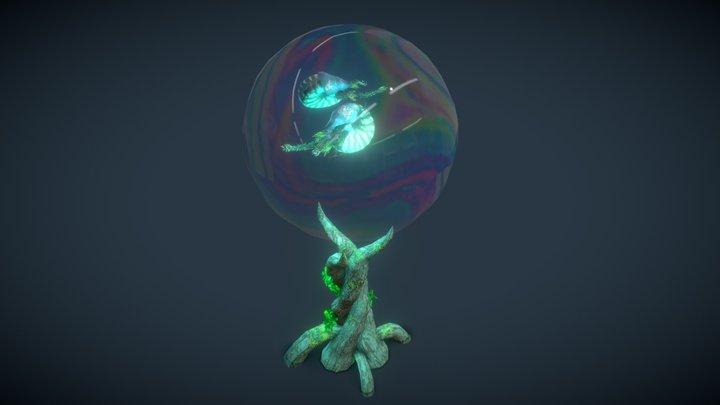 Vegetal nautilus 3D Model