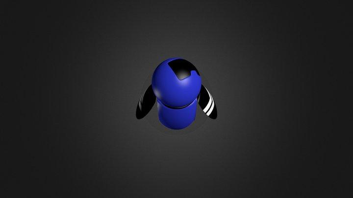 mascote nex 3D Model