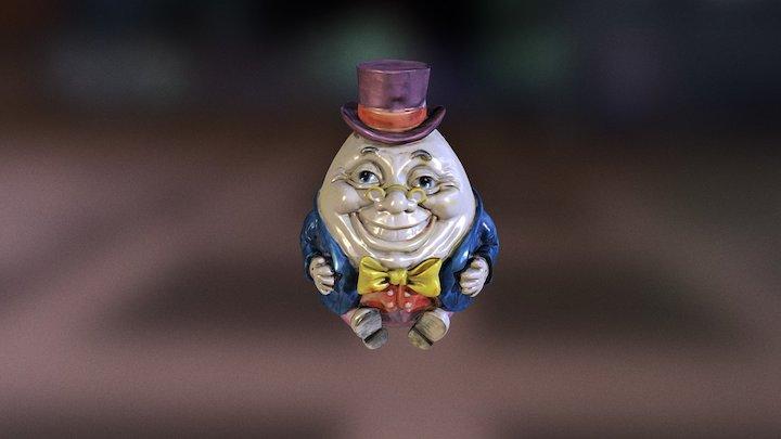 Humpty Dumpty 3D Model