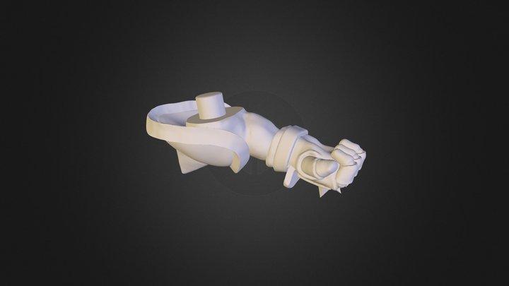 leftArm 3D Model