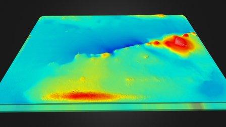 VSEGEI bathymetry 3D Model