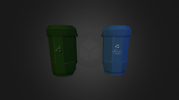 wastebin 3D Model