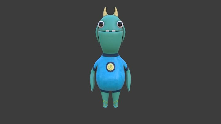 Player Character - Gloorm 3D Model