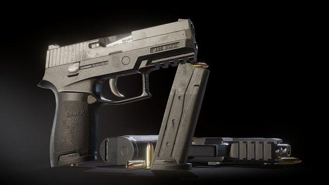 P250 3D Model